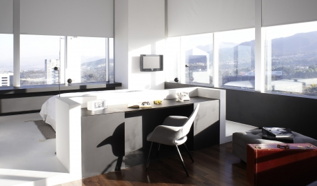 Distrito Capital Bedroom Interior Design City View M 12 R