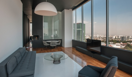 Distrito Capital Suite Living Room Interior Design City View M 08 R