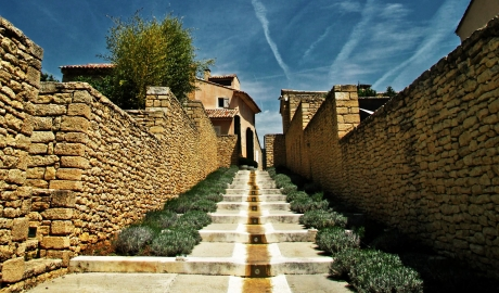 Domaine Des Andeols Architecture Stairs View M 06 R