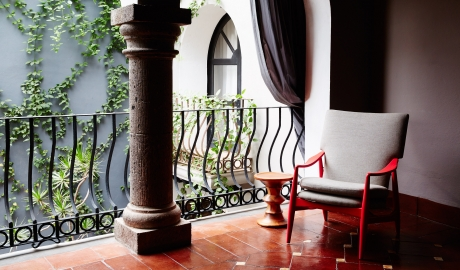 Dos Casas Hotel and Spa Chair in San Miguel de Allende