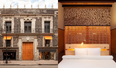 Downtown Mexico Architecture Facade Bedroom M 07 R