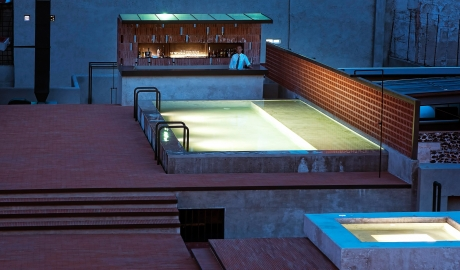 Downtown Mexico Rooftop Pool Bar M 01 R