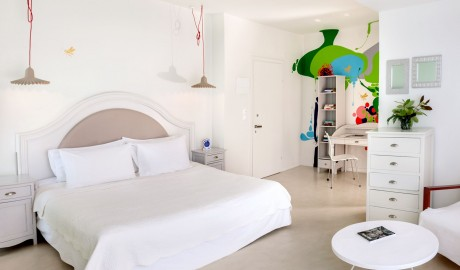 Ekies All Senses Resort Guestroom in Halkidiki