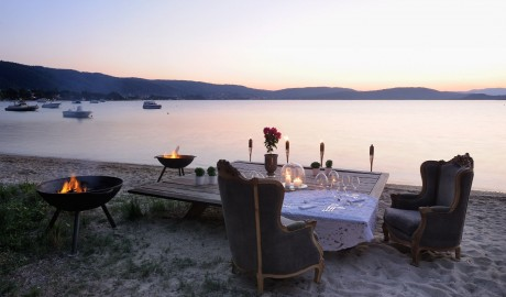 Ekies All Senses Resort Beach Dining in Halkidiki