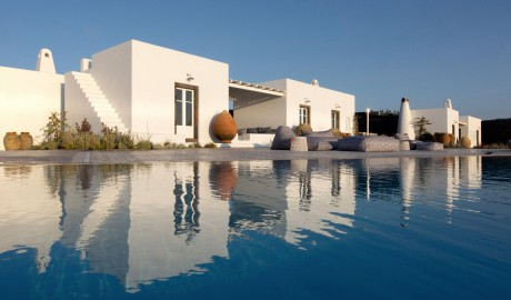 Erosantorini Pool Villas Architecture in Santorini