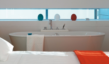 Fresh Hotel Bedroom Bathtub View Interior Details M 01 R
