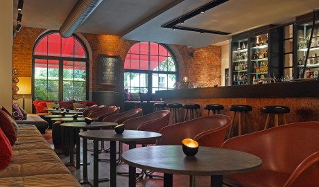 Gastwerk Bar Interior in Hamburg