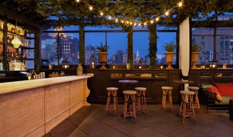 Gramercy Park Hotel Terrace in New York City