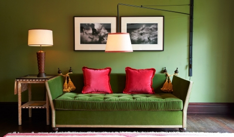 Gramercy Park Hotel Sofa in New York