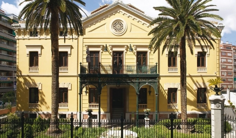 Hospes Palacio De Los Patos Main Building Architecture Facade Entrance M 13