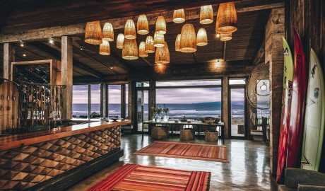 Hotel Alaia Lobby Reception in Pichilemu