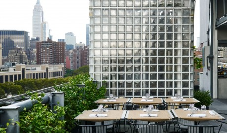 Hotel Americano Outdoor Dining in New York City