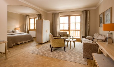 Hotel Bachmair Weissach Suite M 01
