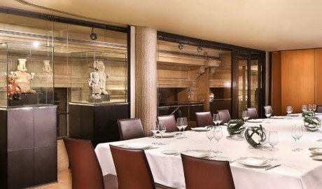 Hotel Claris Dining Room in Barcelona