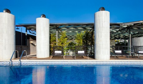 Hotel Claris Rooftop Pool in Barcelona