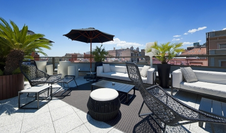 Hotel Claris Rooftop Tarace City View Summer M 06 R