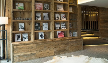 Hotel de Rougemont Bookshelf in Switzerland