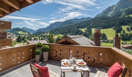 Hotel de Rougemont Mountain View in Switzerland