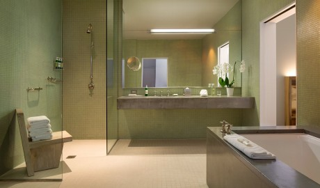 Hotel Healdsburg Bathroom Interior in Healdsburg