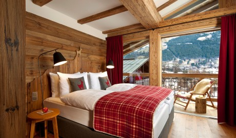Hotel Kitzhof Bed in Kitzbuehel