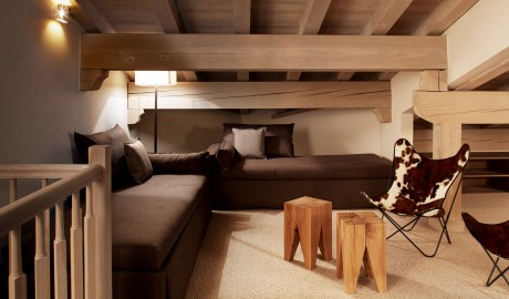 Hotel Le Fitz Roy Sofa in Val Thorens