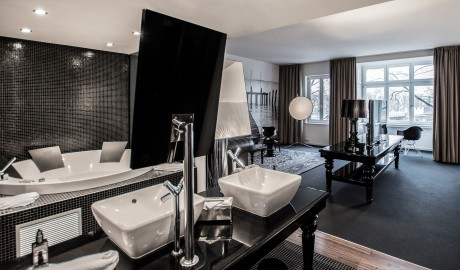 Designhotel berfluss bremen germany design hotels for Design hotel uberfluss