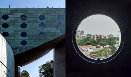 Hotel Unique Facade in Sao Paulo