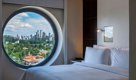 Hotel Unique Window in Sao Paulo