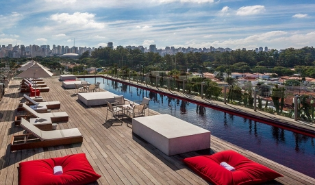 Hotel Unique Terrace in Sao Paulo
