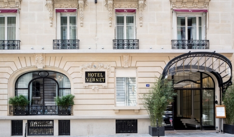 Hotel Vernet Street View in Paris