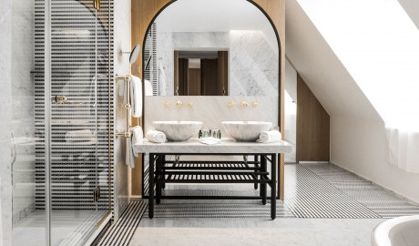 Hotel Vernet Sink in Paris