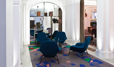 Hotel Vernet Interior Chairs in Paris