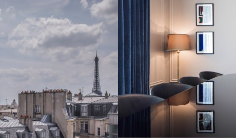 Hotel Vernet View in Paris