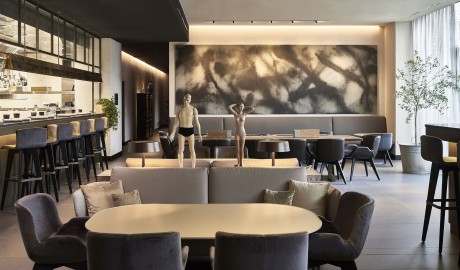 Hotel Viu Milan Sculptures In