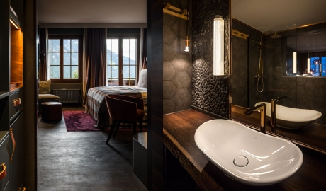 Huus Gstaad Sink in Gstaad