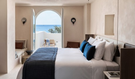 Istoria Bedroom Ocean View in Santorini, Greece - Design Hotels