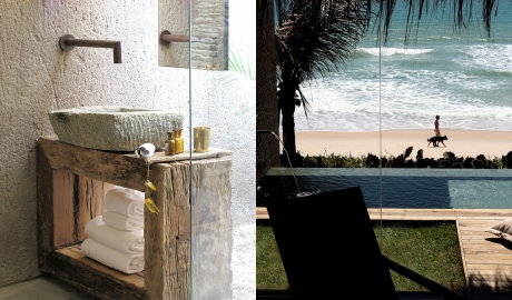 Kenoa Exclusive Beach Spa And Resort Sink Detail Room Terrace Private Pool Ocean View M 08 R 1