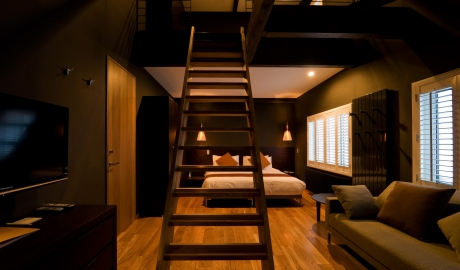Kimaya Boutique Hotel Bedroom Stairs View Interior Design M 04 R
