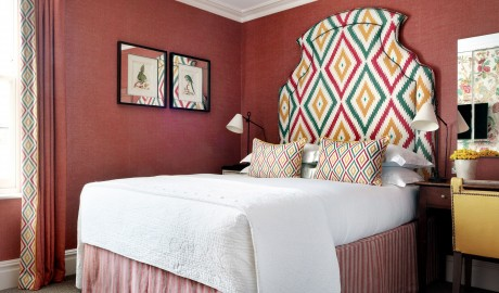 Knightsbridge Hotel Bedroom Interior Design in London