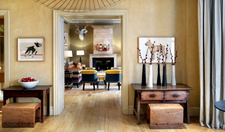 Knightsbridge Hotel Art Interior Design in London
