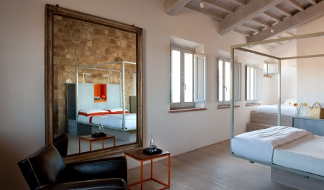 La Bandita Townhouse Suite Design in Pienza