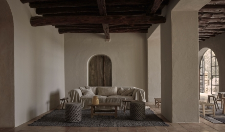 La Granja Living Room in Ibiza