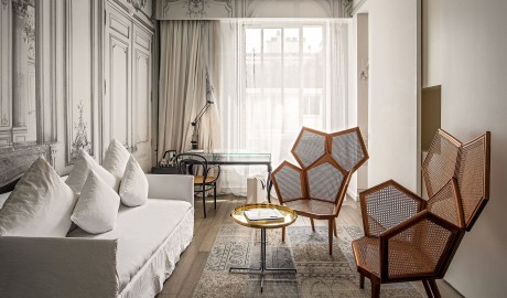 La Maison Champs Elysees Armchairs in Paris