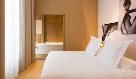 Le Cinq Codet Bedroom in Paris