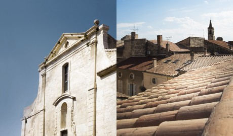 Le Collateral Roof in Arles