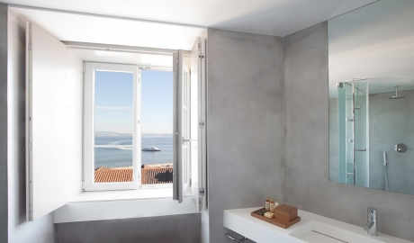 Memmo Alfama Bathroom in Lisbon