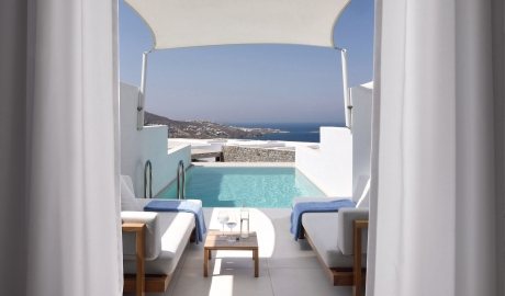 Myconian Kyma Pool in Mykonos