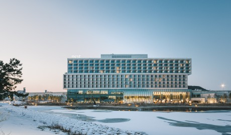 Nest Hotel Architecture in Incheon