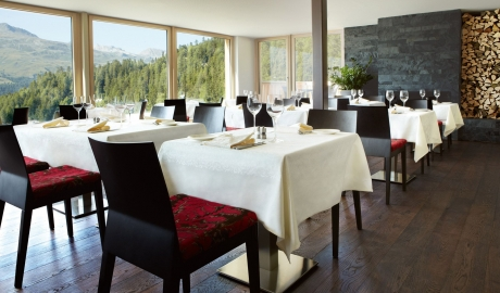 Nira Alpina Restaurant Dining Mountain View M 09 R