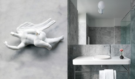 Nobis Hotel Stockholm Bathroom Interior in Sweden